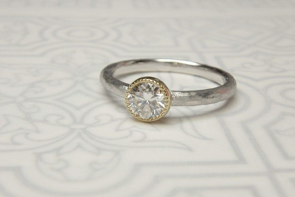 婚約指輪ダイヤリフォームリング