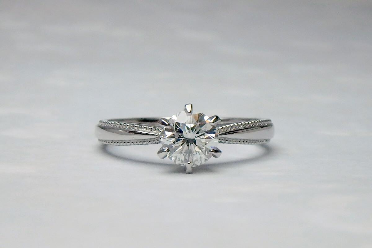 ダイヤ婚約指輪リフォーム