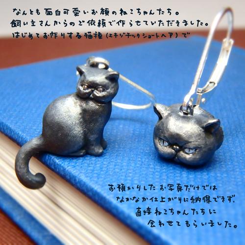 猫のピアス