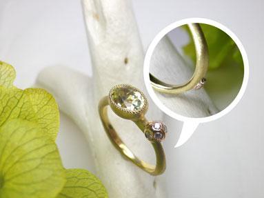てんとう虫の指輪