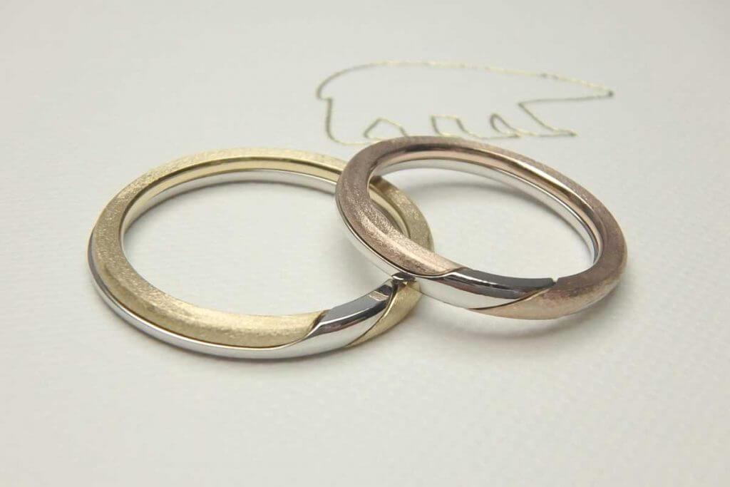 結婚指輪のパズル