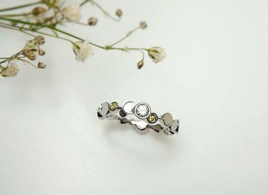 結婚20周年の婚約指輪のリフォーム