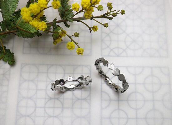 結婚指輪のロンロン