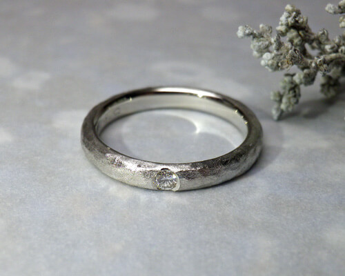 プラチナのダイヤモンドリング