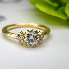 婚約指輪|ルレ イエローゴールド