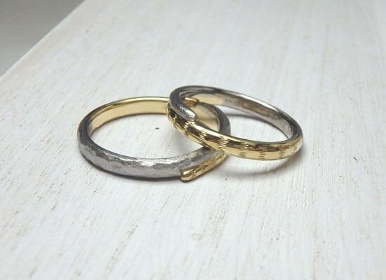 猫モチーフの結婚指輪