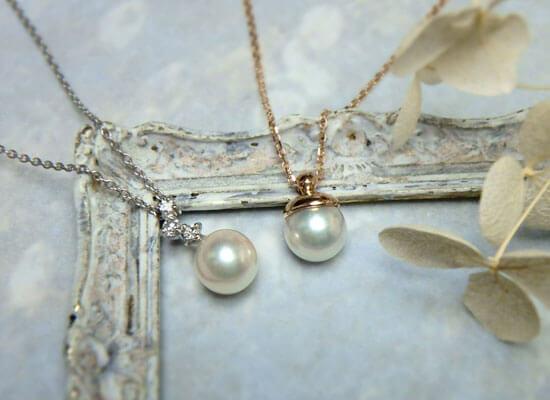 あこや真珠のネックレス