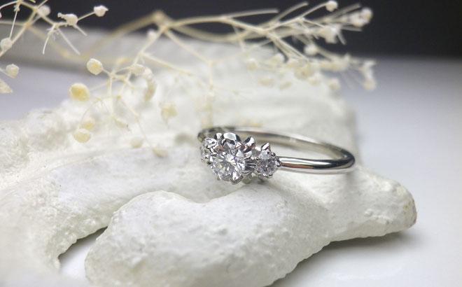 婚約指輪|ルレ プラチナ