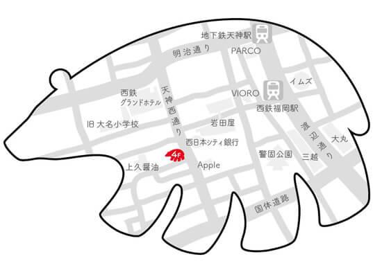 ジュエリーショップShirokumaの地図