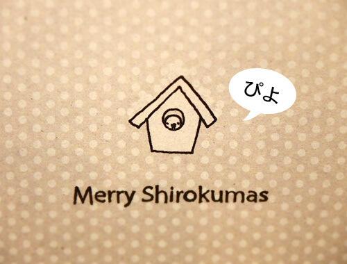 クリスマスカード2016